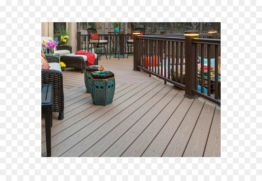 PVC Decking Composite Lumber Wood Plastic Composite Polyvinyl Chloride    Wood