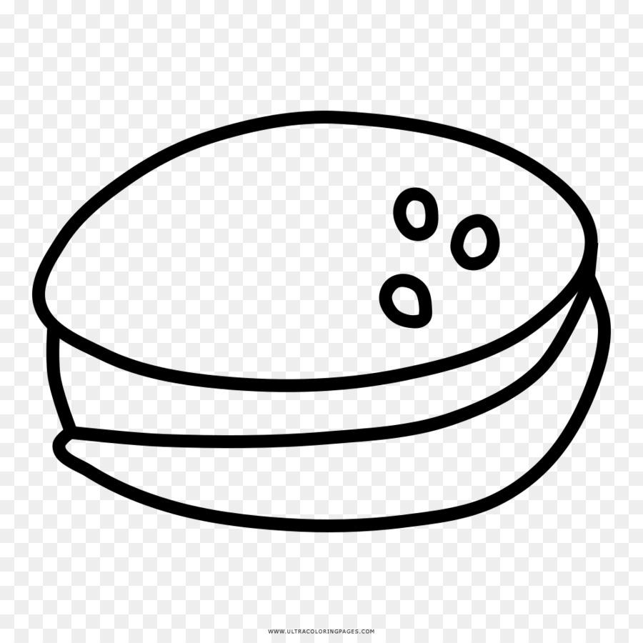Hamburguesa libro para Colorear de comida Rápida Dibujo en blanco y ...