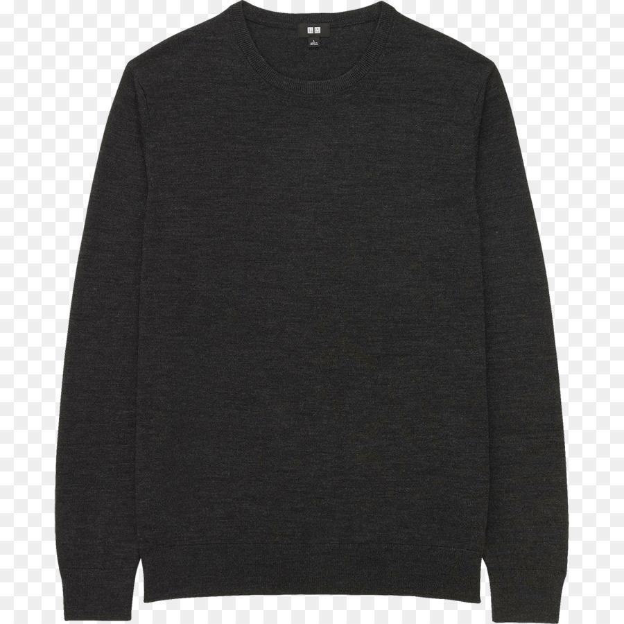939f1c725 Sweater Hoodie Zipper Uniqlo Kru leher - Resleting - Unduh Hitam ...