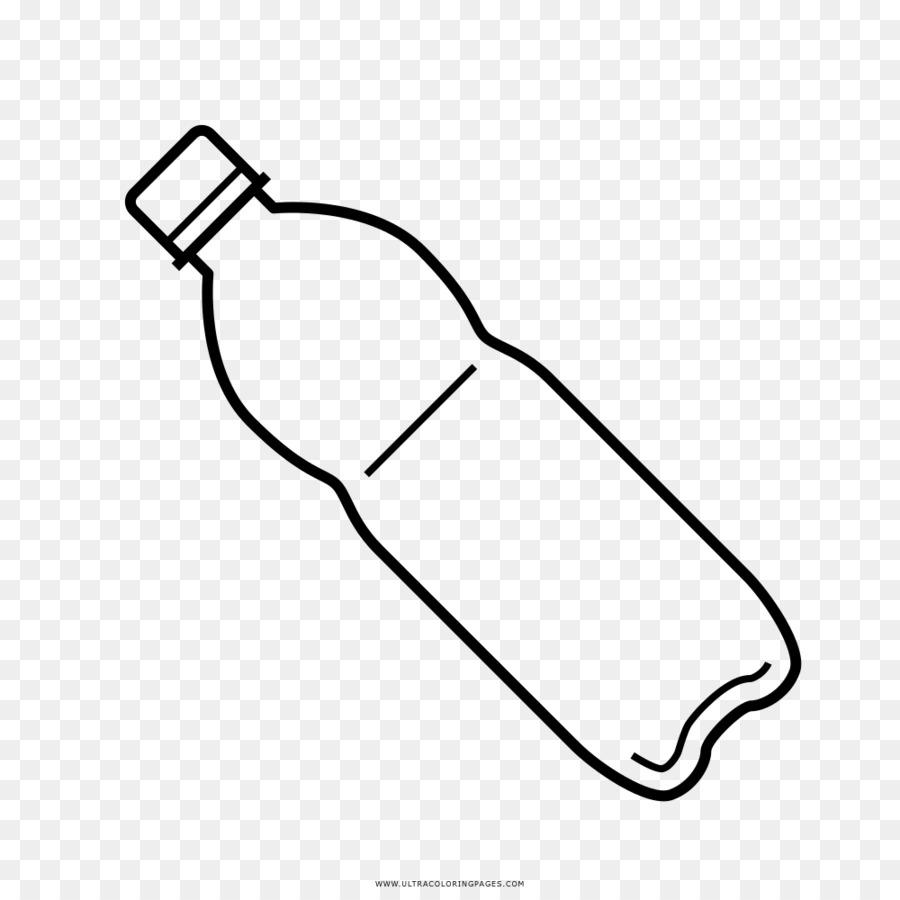 şişe Boyama Kitabı Plastik çizim şişe Png Indir 10001000