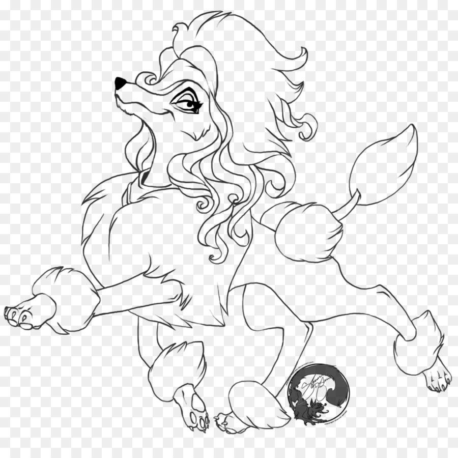 Estándar Poodle Caniche Toy libro para Colorear Cachorro - cachorro ...
