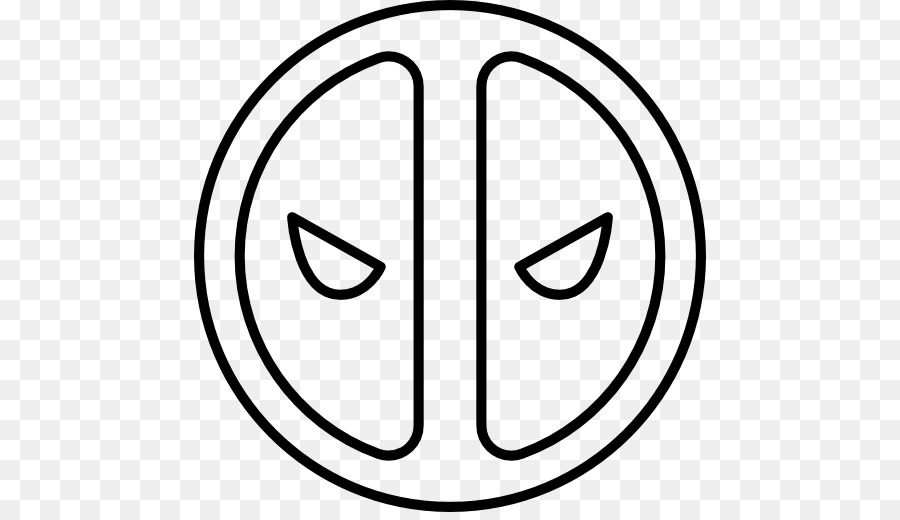 deadpool spiderman logo drawing deadpool png download