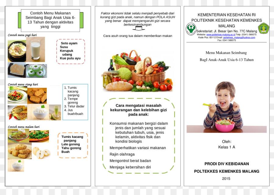 Piramida Makanan Kesehatan Pamflet Leaflet Dilipat Kesehatan 2339