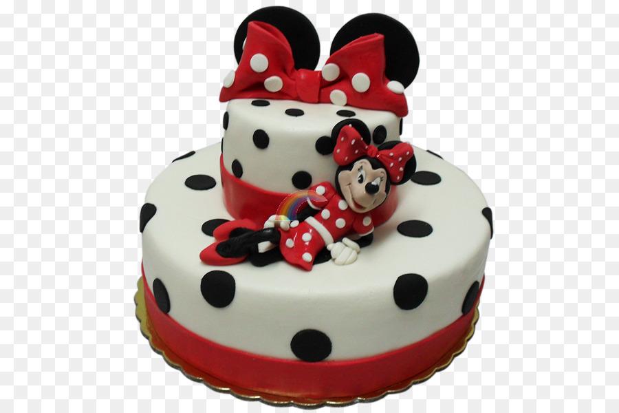 Geburtstagskuchen Torte Kuchen Dekoration Minnie Mouse Zucker Kuchen