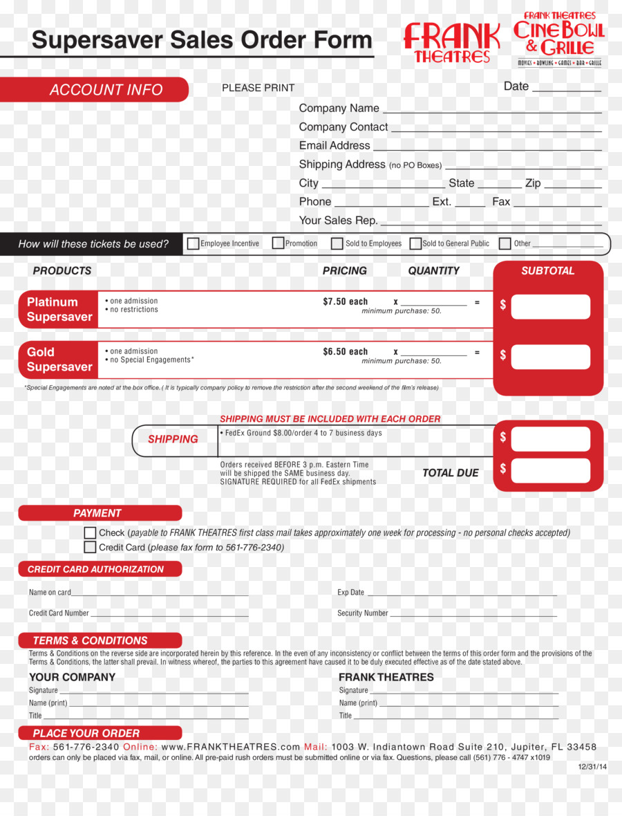 Sales Order Form | Sales Order Template Form Web Page Order Form Png Download 2550