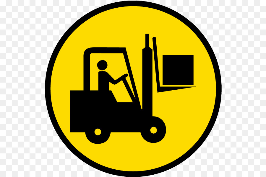 Forklift Safety Warning Label Sticker Safety Symbols Png Download