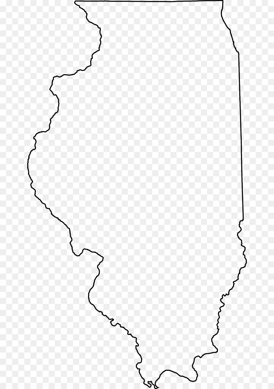 Illinois Blank Map map png download   722*1280   Free Transparent Illinois png Download.
