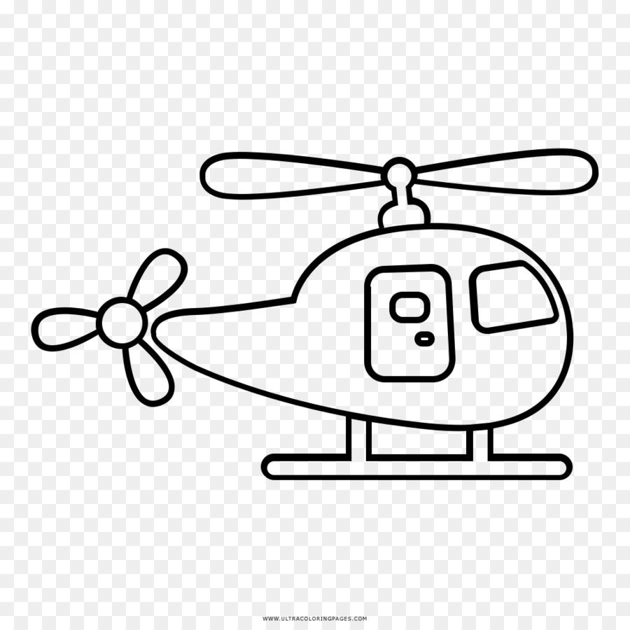 Helikopter Rotor Buku Mewarnai Gambar Anak Helikopter Unduh