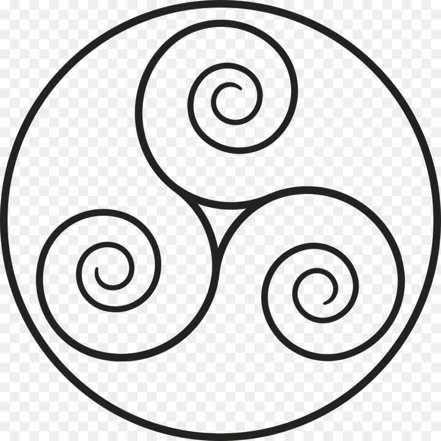 Triskelion Symbol Celts Triquetra Celtic Knot Symbol Png Download