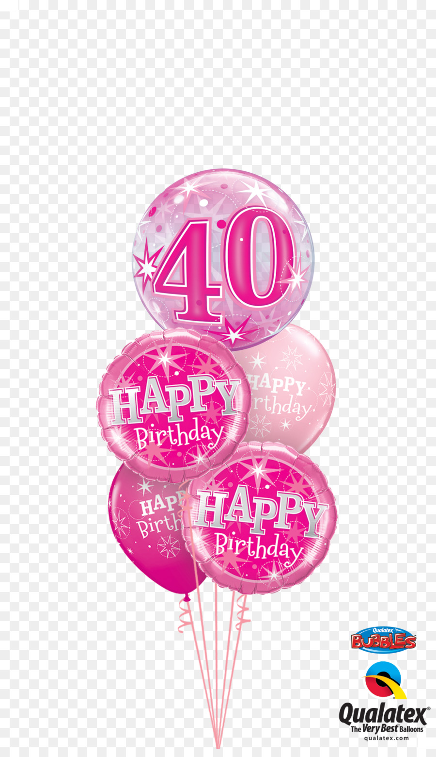 Birthday Cake Balloon Flower Bouquet Gift