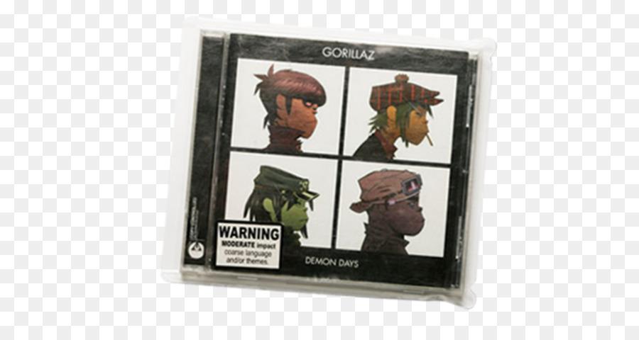 Gorillaz Demon Days disco Fonográfico Álbum Virtual de la banda - De ...