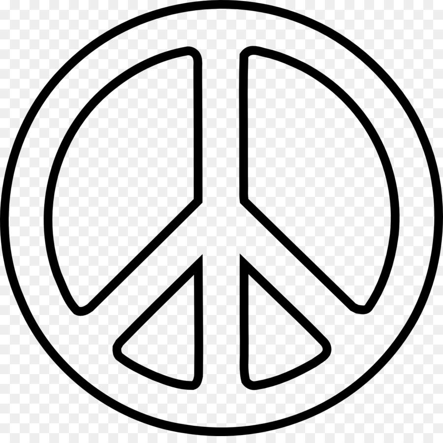 La paz símbolos de Dibujo Clip art - símbolo png dibujo ...