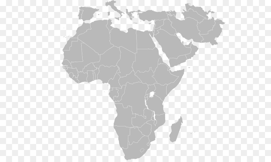 North Africa World Map.North Africa Middle East Blank Map World Map Western Asia World
