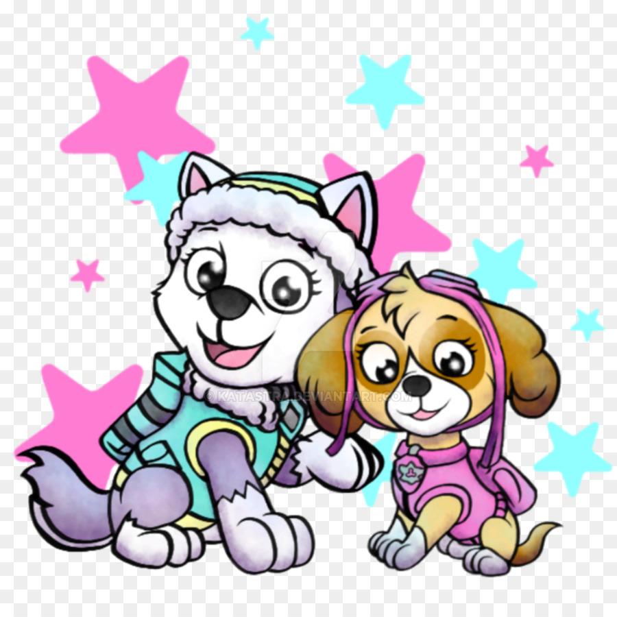 fee1b675d Puppy Cat Patrol Siberian Husky Clip art - puppy png download - 894 ...