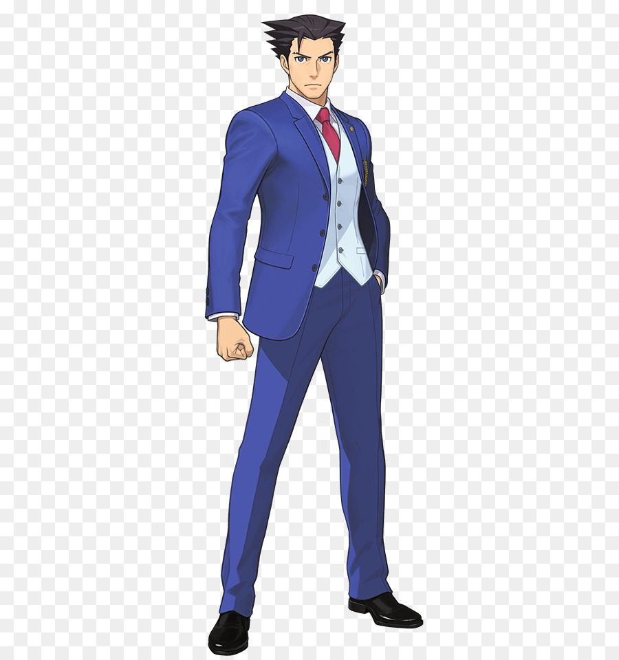 Phoenix Wright Ace Attorney Standing png download - 510*954