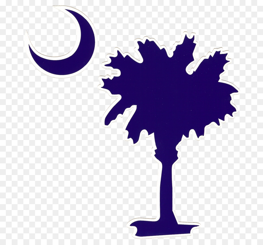 Sabal Palm Flag Of South Carolina Arecaceae Crescent South Carolina