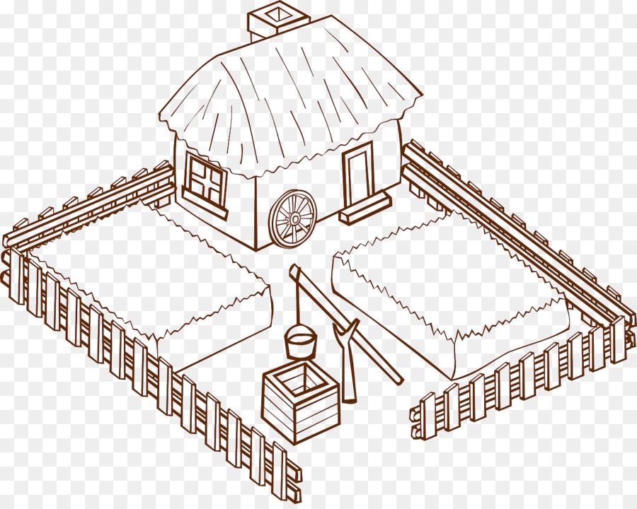 La granja de Iconos de Equipo de Clip art - casa de la granja ...