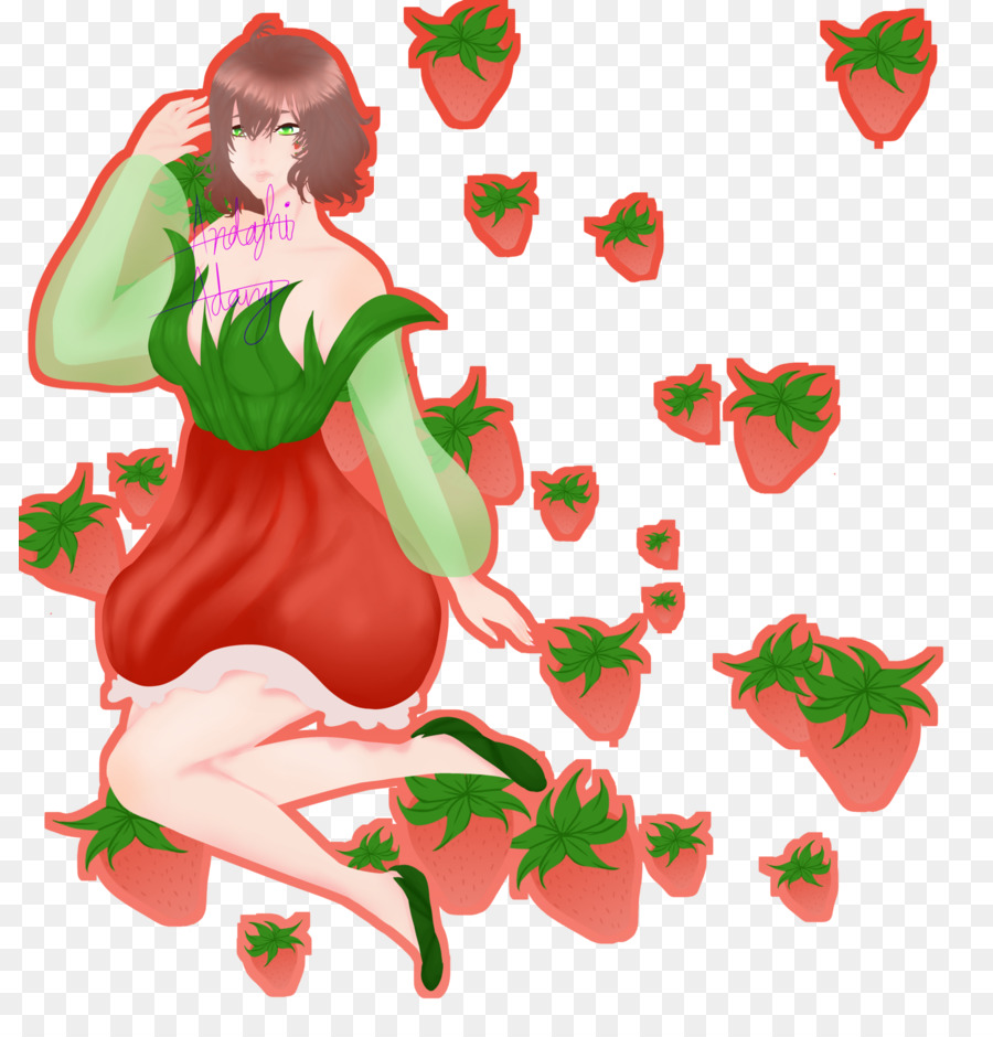 Strawberry Christmas ornament Clip art - strawberry png download ...