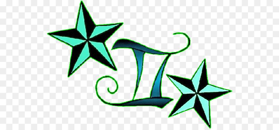 Etoile Nautique De Tatouage Signe Astrologique Gemeaux D Autres