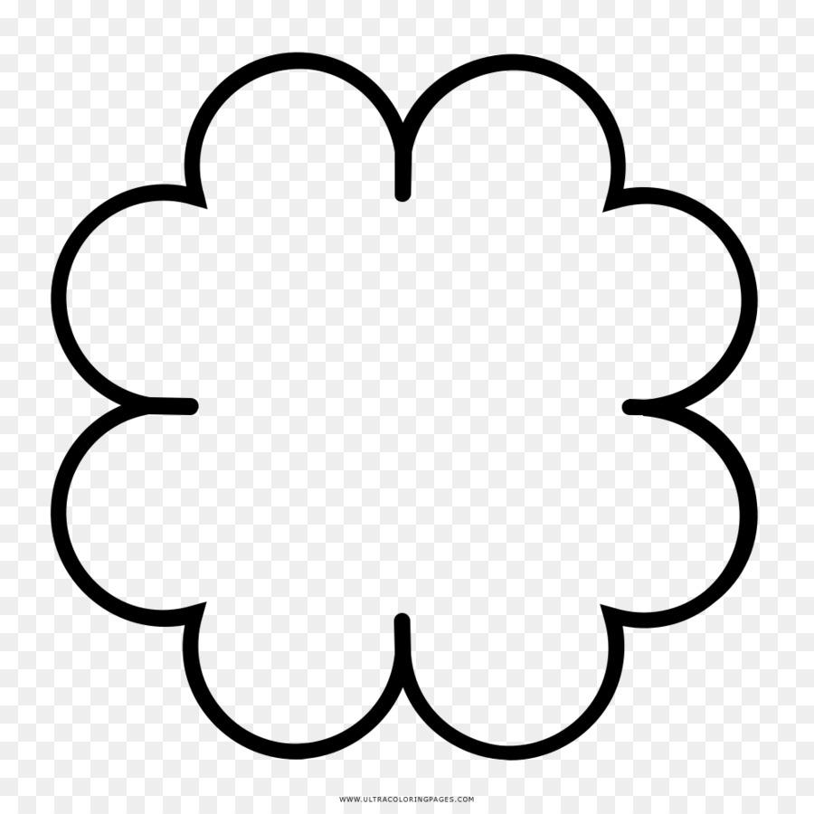 Trébol de cuatro hojas de Dibujo para Colorear libro - clover ...