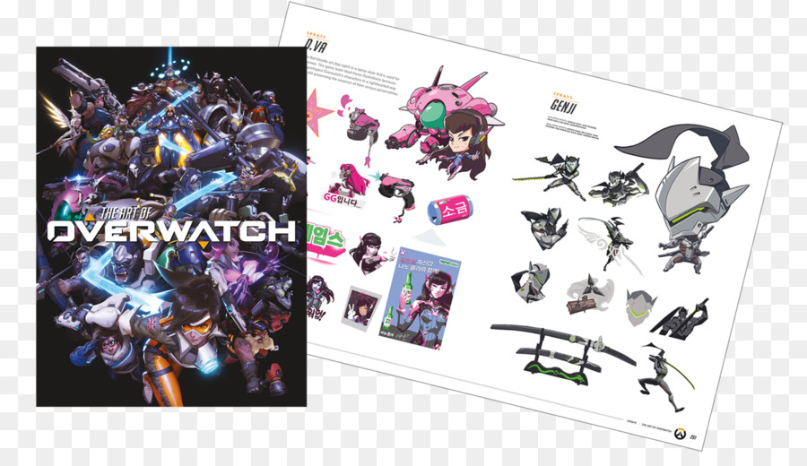 The Art Of Overwatch Limited Edition Book