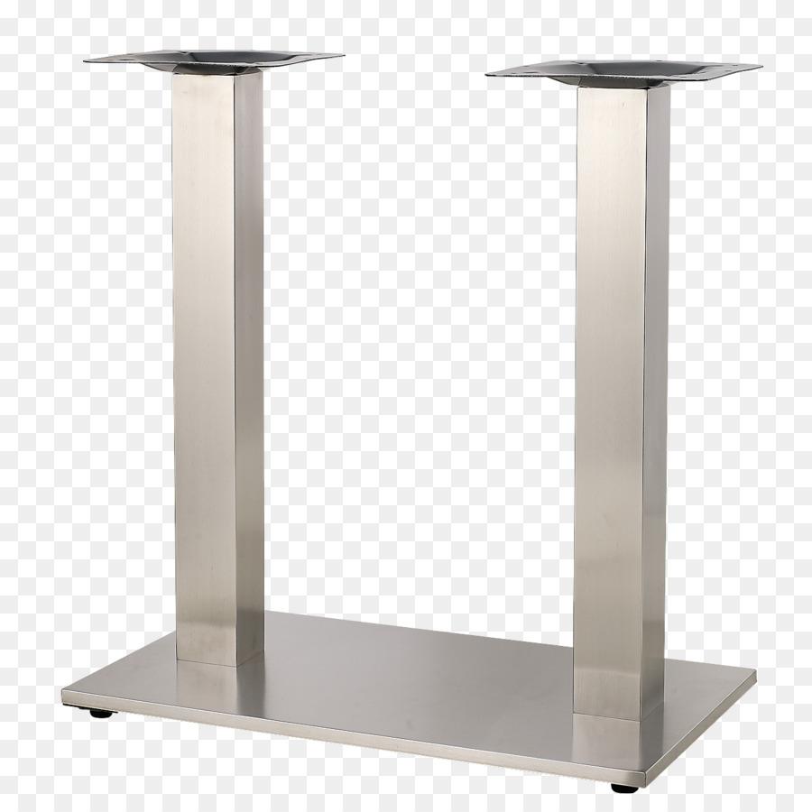 Table Stainless Steel Pedestal Brushed Metal Png 1300 Free Transpa