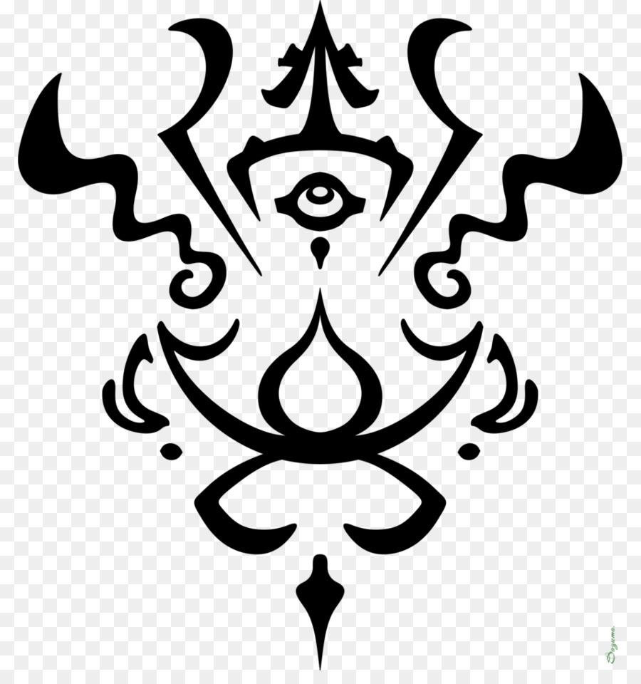 Symbol Art Black Magic Symbol Png Download 849941 Free
