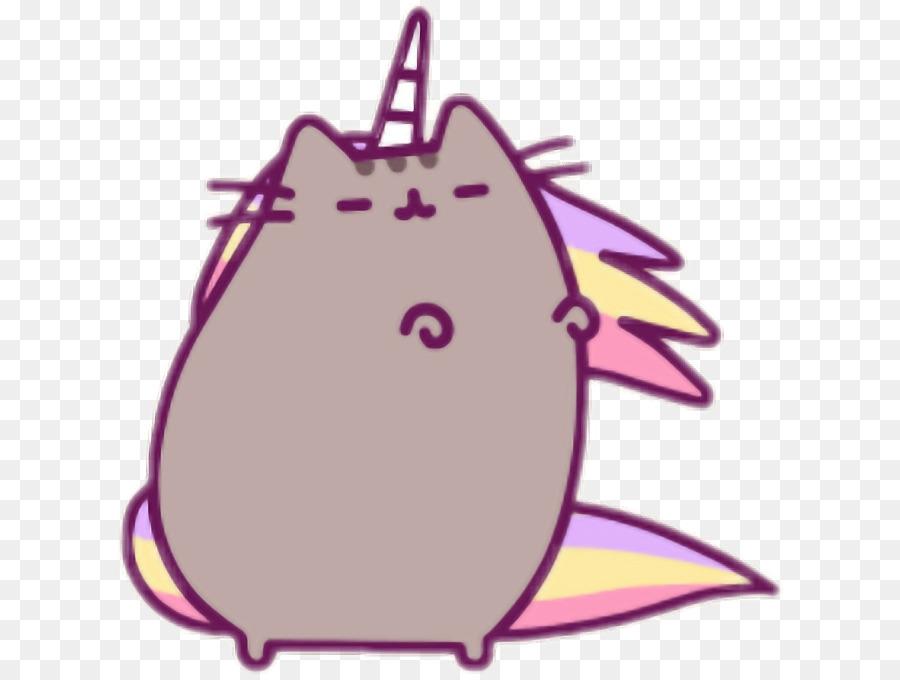 pusheen cat unicorn kitten cat png download 666 674 free