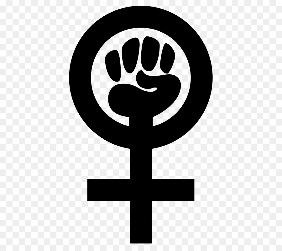 Gender Symbol Female Power Symbol Feminism Symbol Png Download