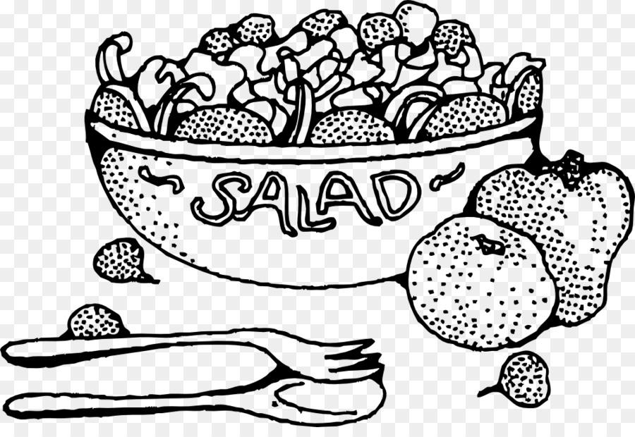 Ensalada de frutas de libro para Colorear de Alimentos - ensalada ...