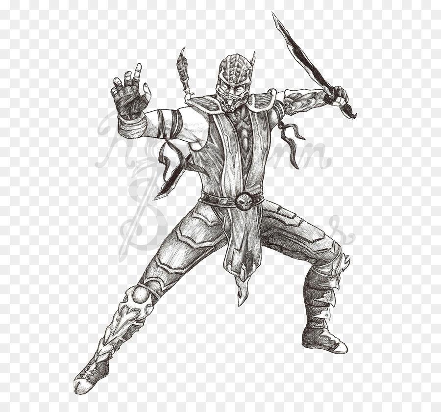 Mortal Kombat X Scorpion Sub-Zero Kitana - others png download - 600 ...