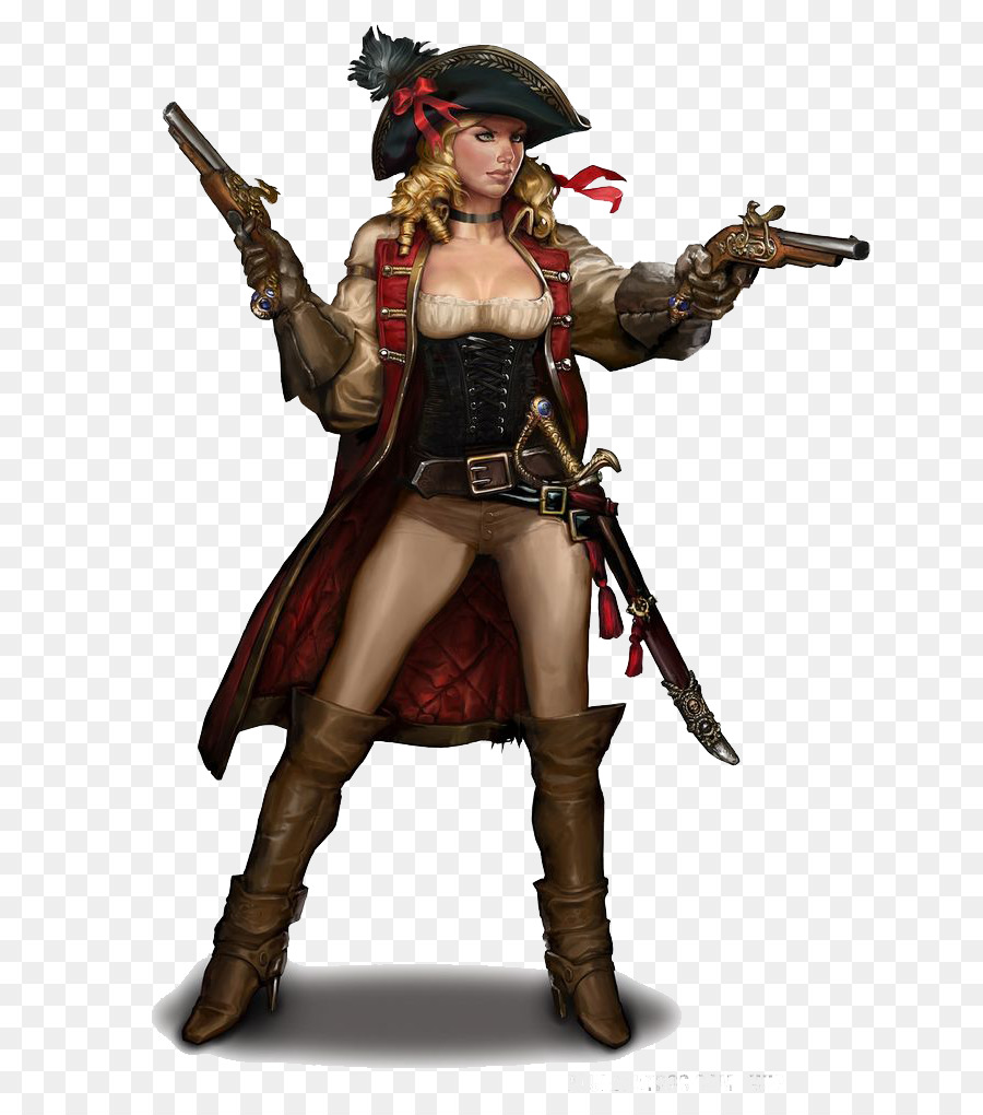 Piracy Woman Female Concept Art Character Woman Png Download 736
