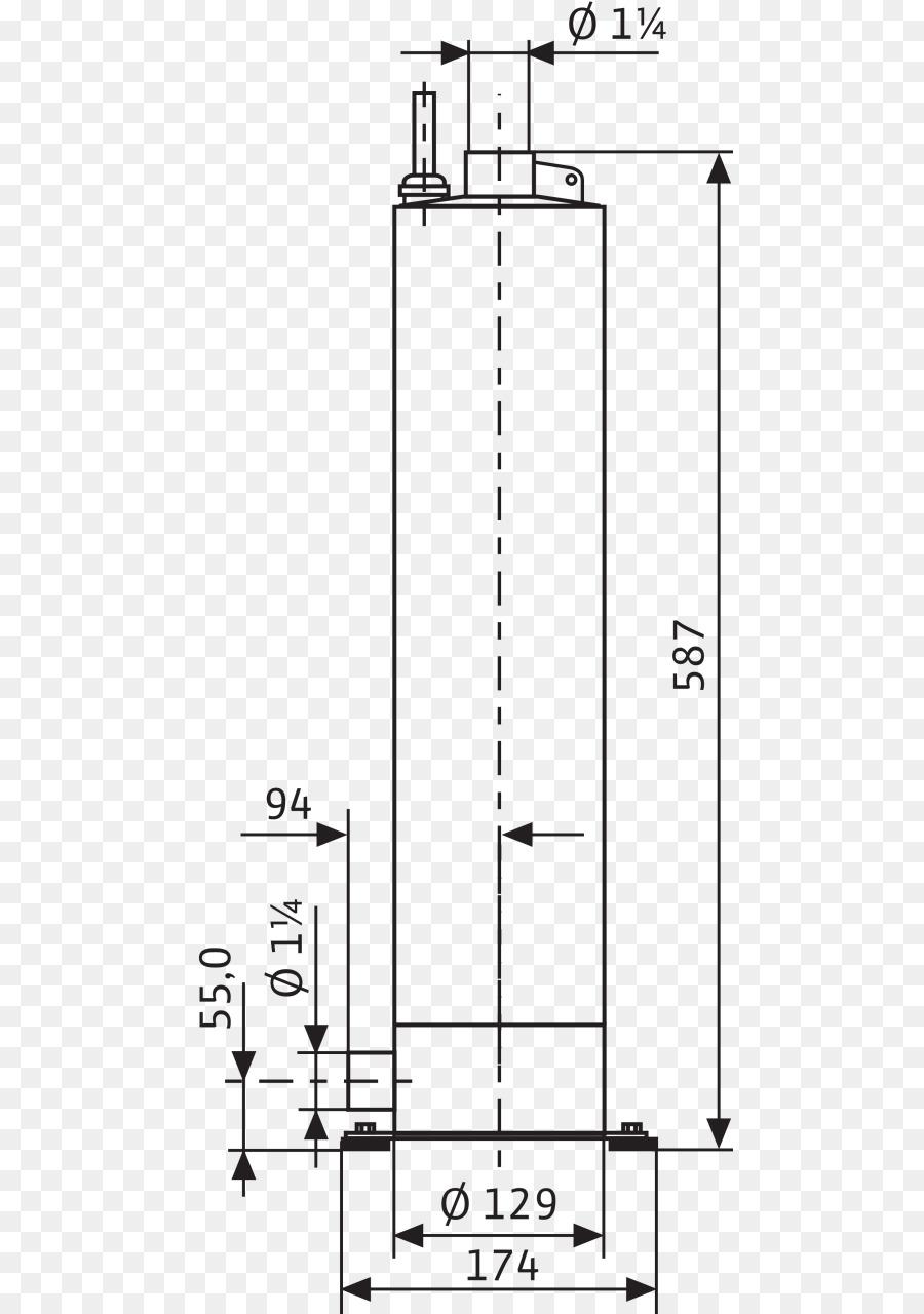Submersible Pump Drawing png download - 528*1280 - Free Transparent