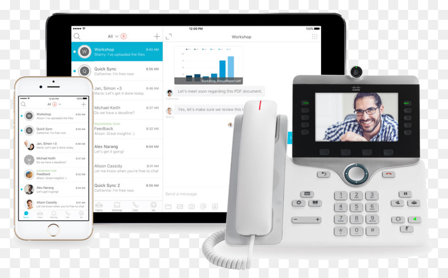 Cisco Webex Communication Device png download - 1080*666 - Free