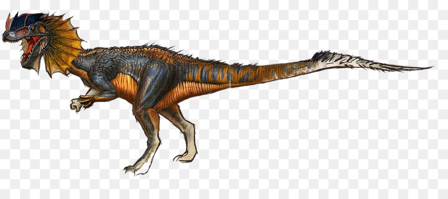 Tyrannosaurus Dilophosaurus ARK: Survival Evolved Giganotosaurus  Velociraptor   Frilled Neck Lizard