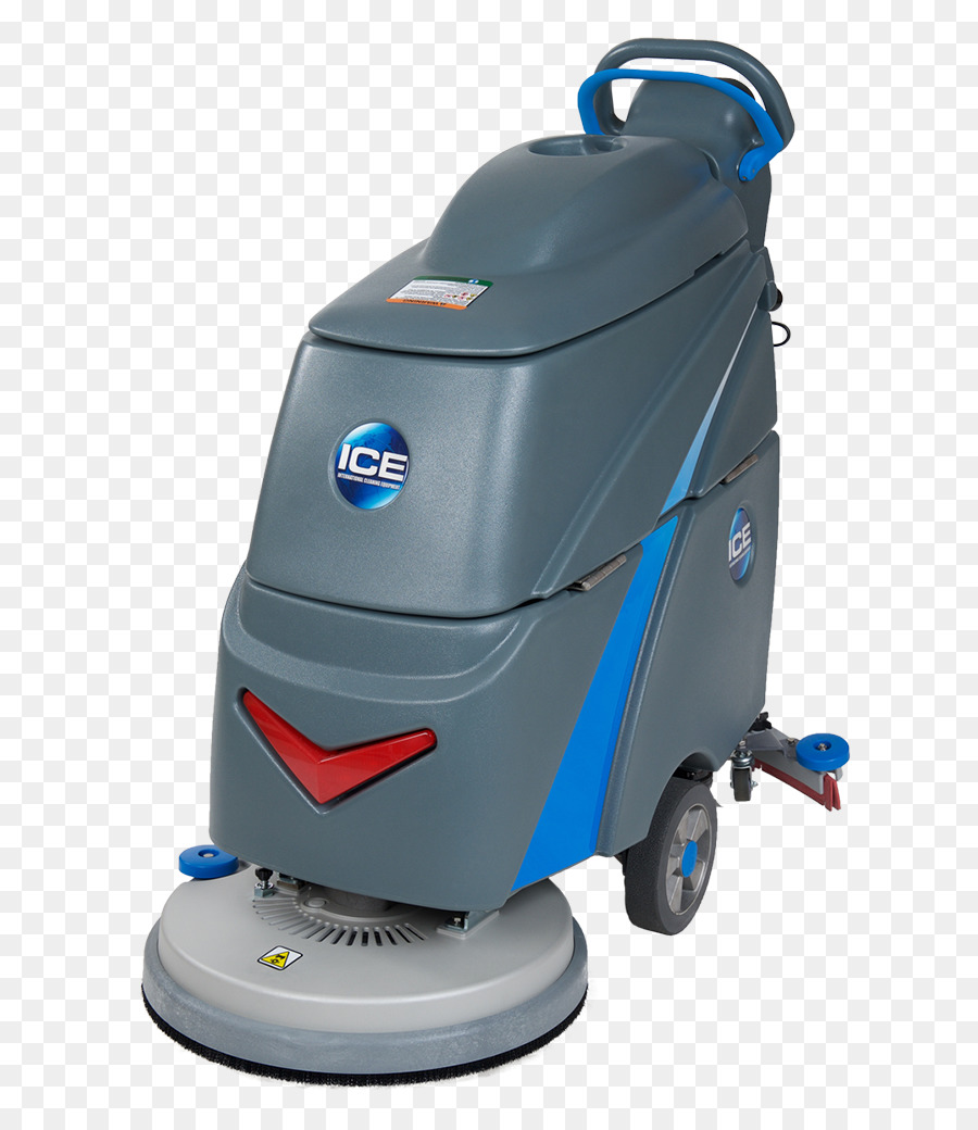 Floor Scrubber Machine Cleaning Carpet Top View Png Download 706