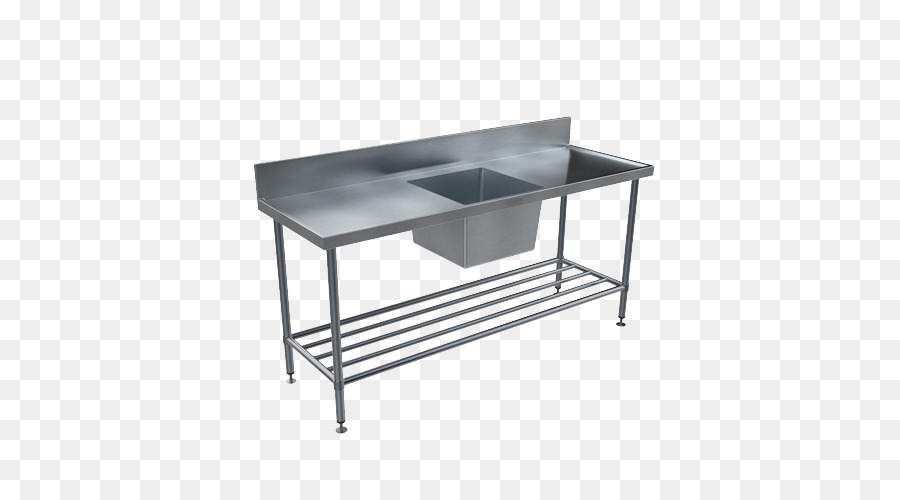 Stainless Steel Table Sink Potting Bench Plumbing Fixture 500 Transp Png Free