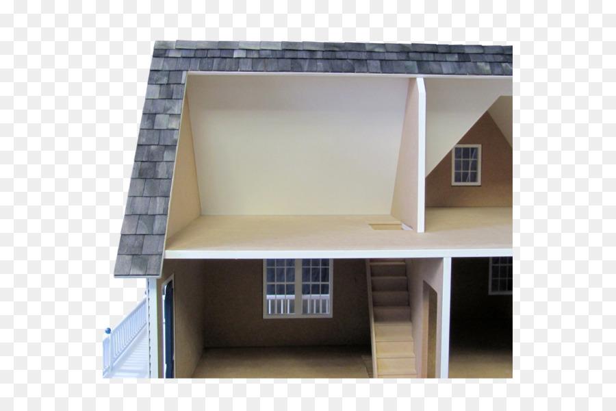 Facciata tetto casa illuminazione di proprietà modelli in scala
