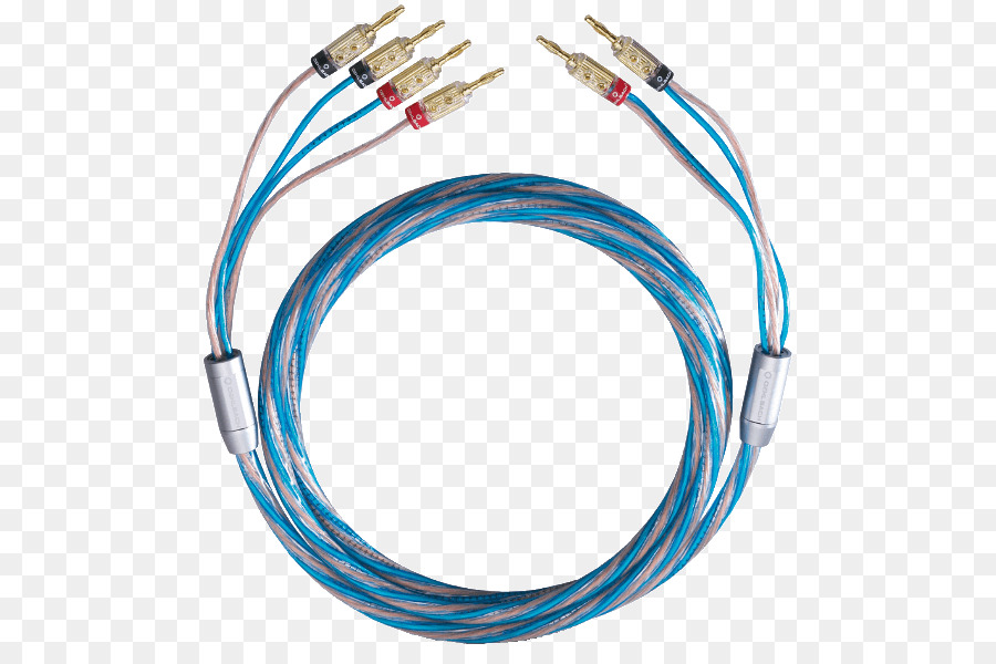 Bi-wiring Speaker wire Loudspeaker Electrical cable Kabelschuh ...