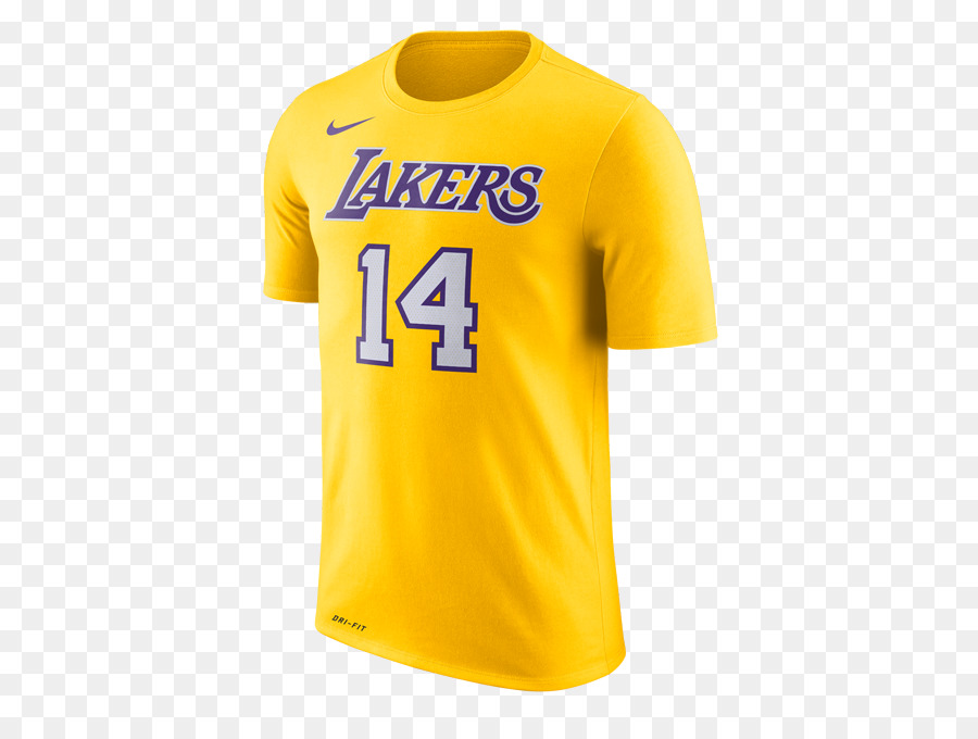 2282d0194 Los Angeles Lakers T-shirt Indiana Pacers Jersey - T-shirt png download -  500 667 - Free Transparent Los Angeles Lakers png Download.
