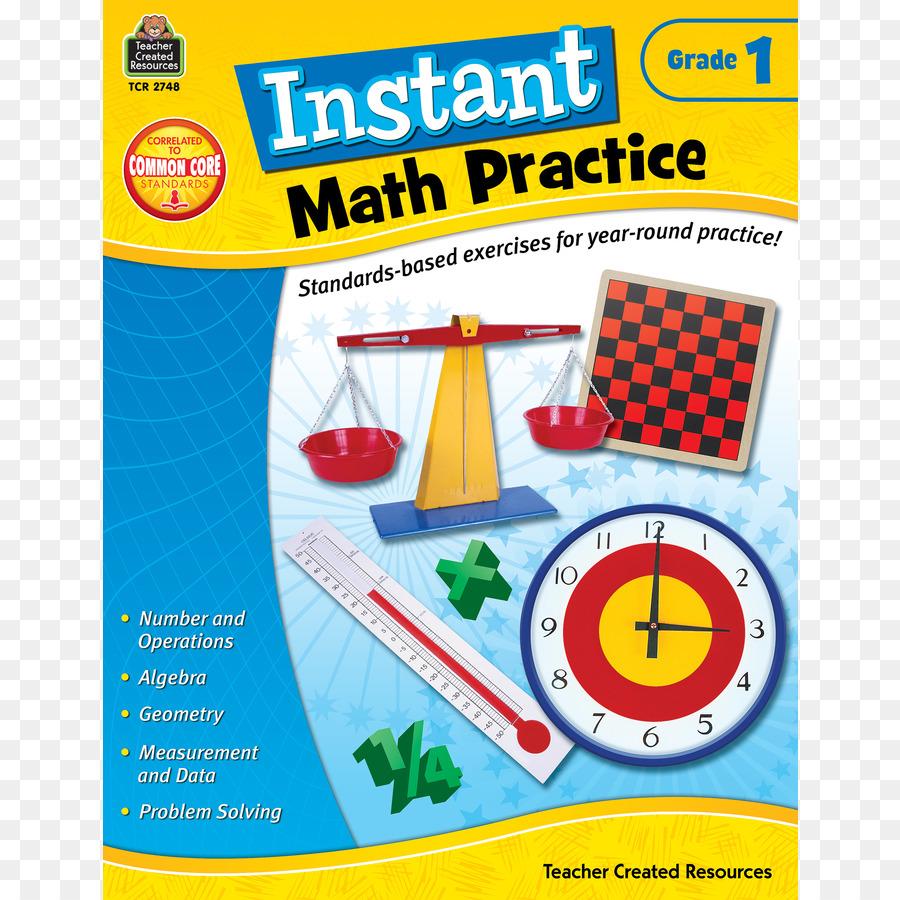 Instant Math Practice: Grade 1 Instant Math Practice Grade 4 First ...
