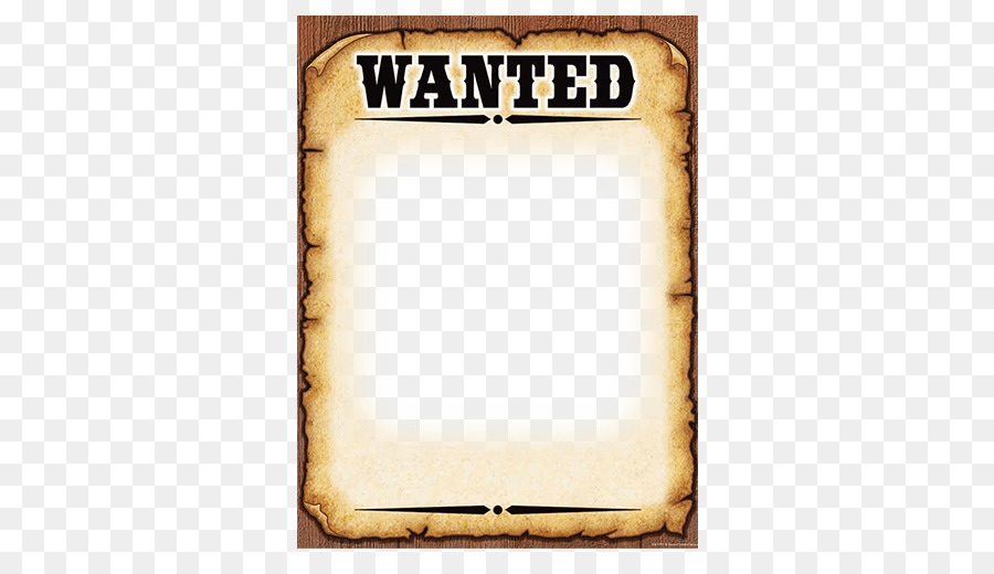 wanted poster template american frontier poster templet png