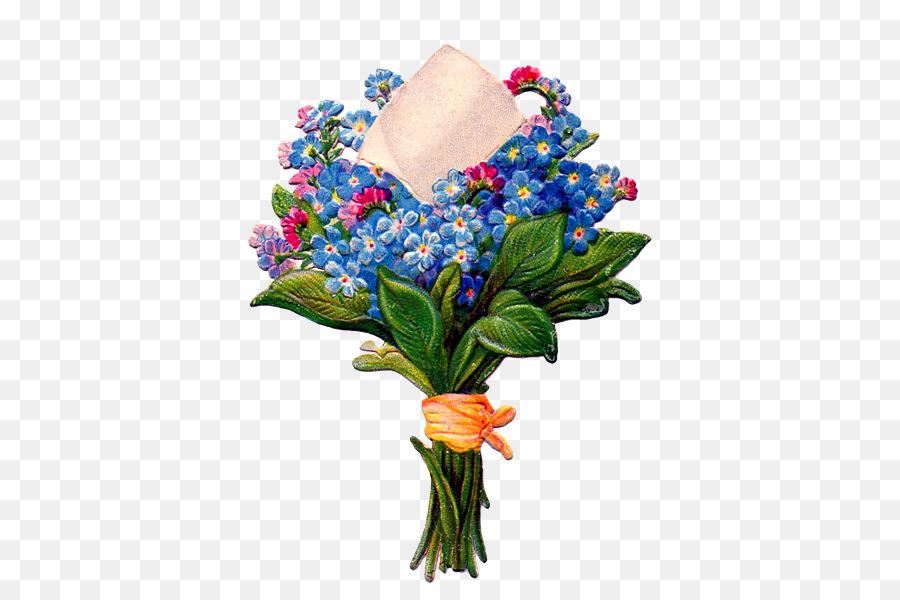 Flower bouquet Cut flowers Clip art - flower png download - 430*600 ...