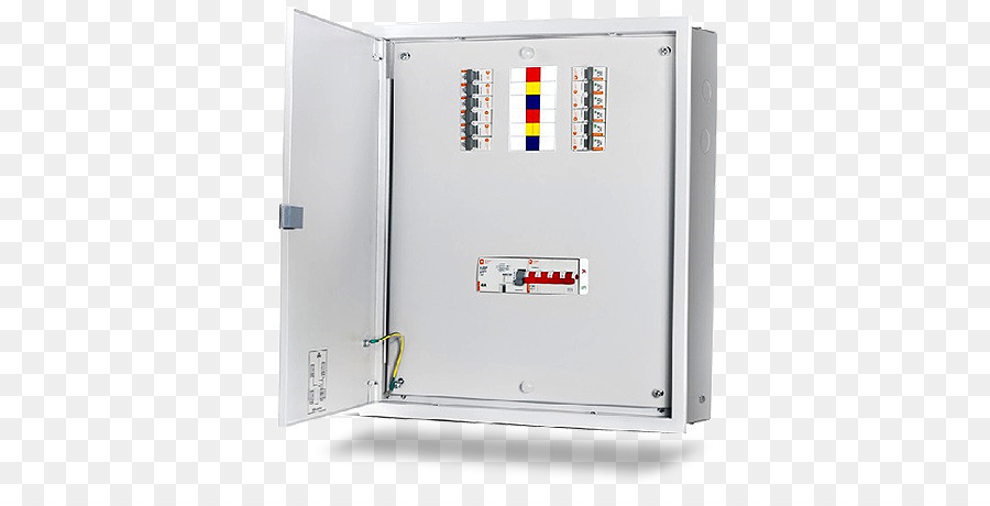 Distribution board Electric power distribution Circuit breaker ...