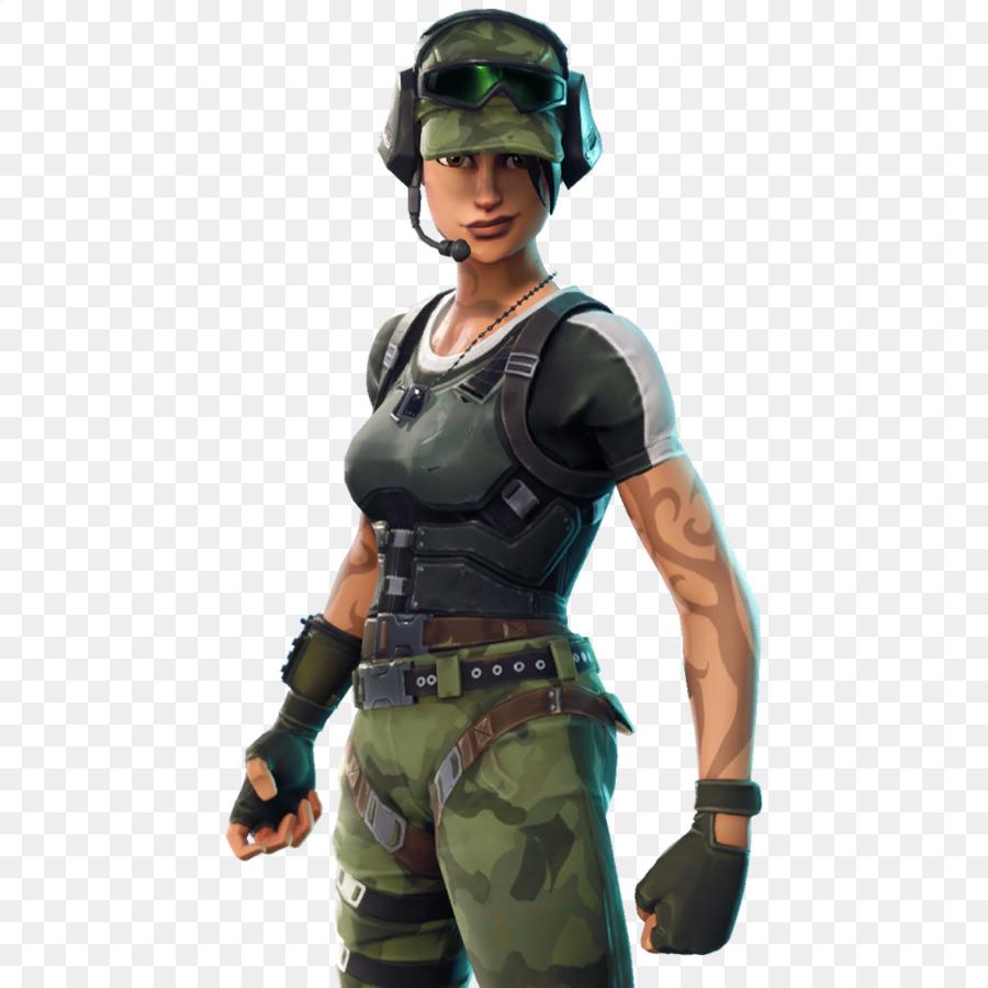 Fortnite army skin png