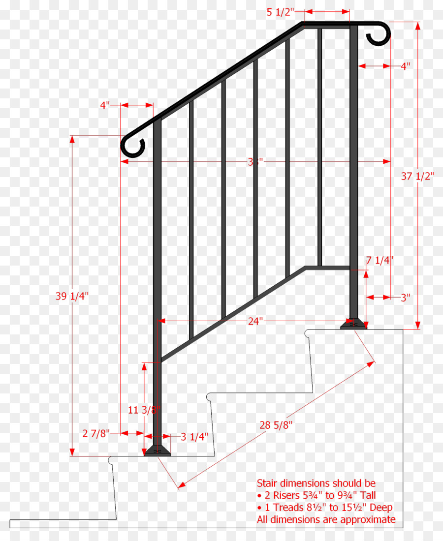 handrail guard rail wrought iron stairs iron png download 1080 rh kisspng com