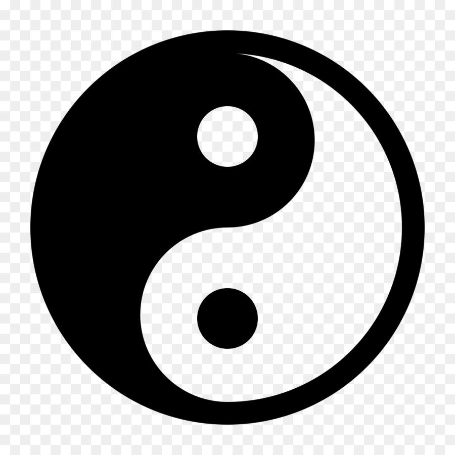 Yin And Yang Drawing Clip Art Yin Yang Png Download 12001200
