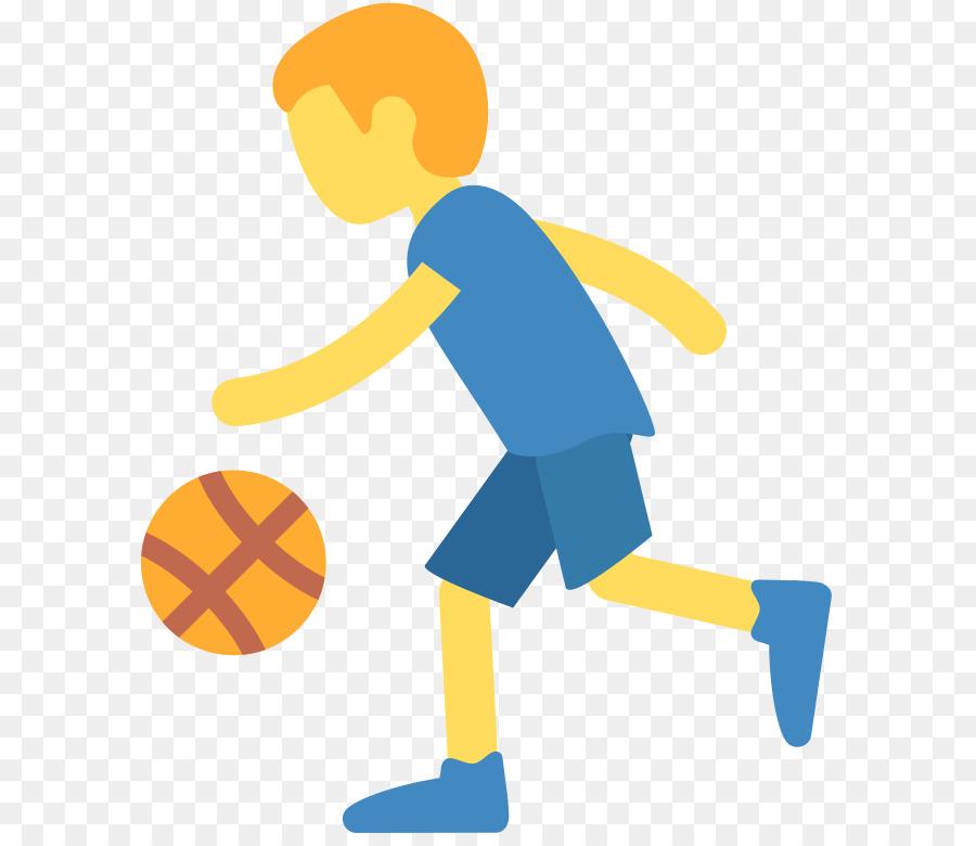 Emoji NBA Football Basketball player - Emoji png download - 768*768 ...