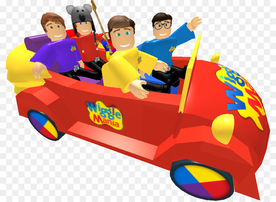 Sports Car The Wiggles Wiggle Town Roblox Car Png Download 878