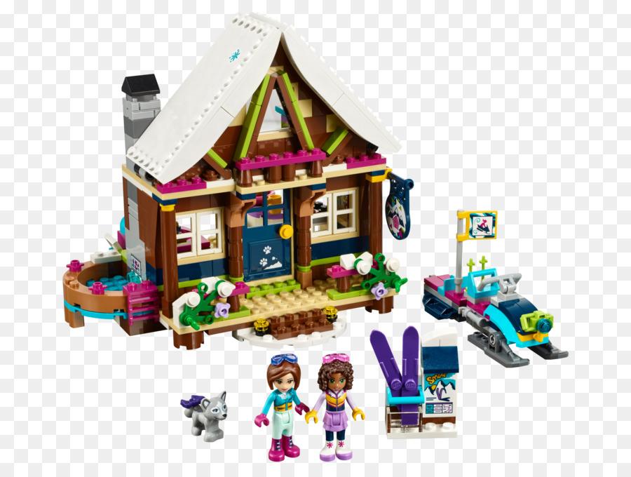 Lego 41323 Friends Snow Resort Chalet Lego Friends Lego 41324